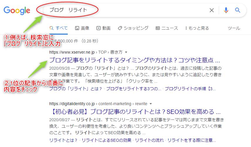 【ブログ記事リライトしなきゃ順位が下がる!!】タイトル変更やライティングのコツ